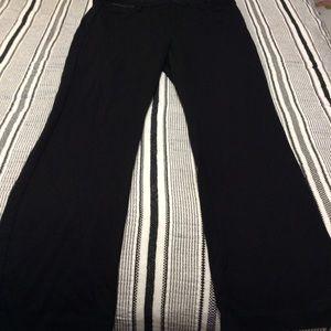 NYDJ Black super comfortable pants.
